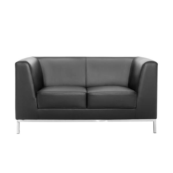 Диван 2-местный President Black Sofa